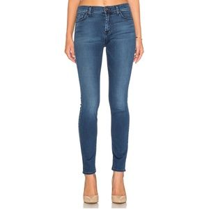 7 For All Mankind Mid Rise Super Skinny Jeans